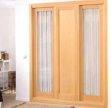 Puertas persiana para armarios