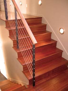Instaladores de parqu en escaleras revestimientos para for Escaleras de parquet