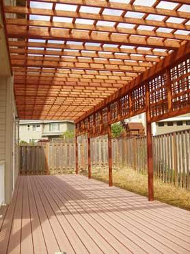 Revestimientos sint ticos de madera para exterior para for Suelos de madera para terrazas exteriores