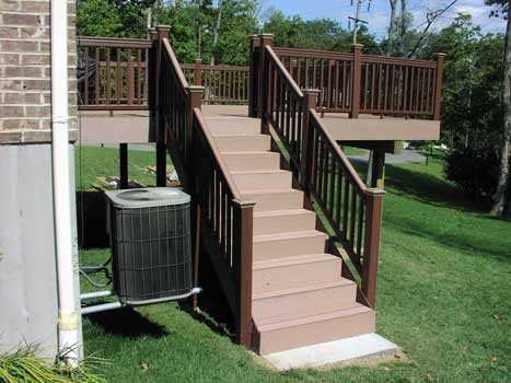 Revestimientos sint ticos de madera para exterior para - Barandales de madera exteriores ...